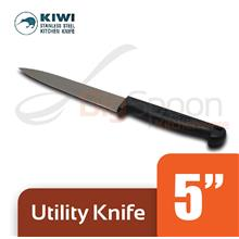 THAILAND KIWI Utility Knife 5 inch with Slip-resistant Plastic Handle