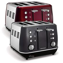 Morphy Richards Evoke Core 4 Slice Toaster)