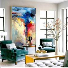 100% handpainted oil paintings 80x120cm abstract
