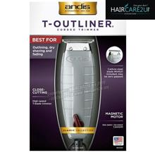 ANDIS T-Outliner Corded Magnetic Trimmer with Carbon Steel T-Blade