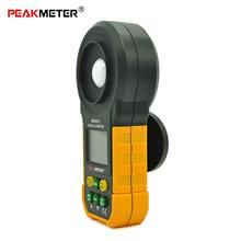 YELLOW AND BLACK PEAKMETER MS6612 High Accuracy Lux Light Meter Test S..