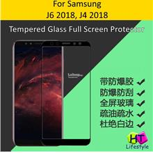Samsung J6 2018,J4 2018 Tempered Glass Full Screen Protector