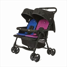 Joie Aire Twin Rosy  & Sea Stroller (Birth-15kg)