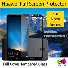 Huawei Nova 3,3i,3e,2i,2 Lite Tempered Glass Full Screen Protector