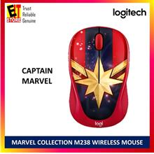 LOGITECH M238 MARVEL COLLECTION WIRELESS MOUSE (CAPTAIN MARVEL)
