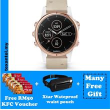 Garmin Fenix 5s Plus Sapphire Rose Gold with RM50 KFC Voucher & Gifts