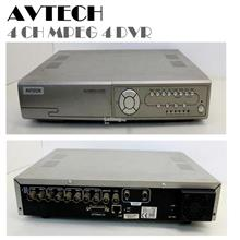 AVTECH 4 CHANNEL MPEG 4 DVR CCTV NETWORK
