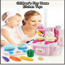 Children's Play House Kitchen Toys Set