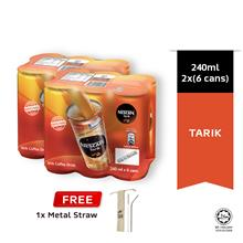 NESCAFE Tarik 240ml , Buy 2 Clusters Free Metal Straw