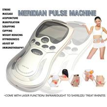 Digital Meridian Pulse Theraphy Machine With Laser (3Output/ 4Pads)