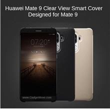 HUAWEI Mate 9 P10 / Plus Smart Clear Full View Flip Cover Leather Case