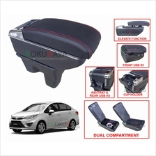 Proton Persona (2nd Gen) Multi Purpose USB Chrome Leather Arm Rest