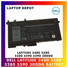 [100% ORIGINAL] Dell Latitude 5480 5580 5280 5290 5590 3DDDG Battery