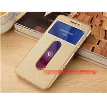 ViVO Y55 Y55A Flip PU Leather Stand Case Cover Casing + Free Gift