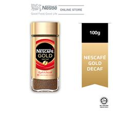 Nescafe Signature Gold Decaf Jar 100g)