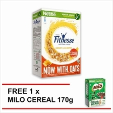 NESTLE FITNESSE Honey and Almond Cereal 390g Free 1 Milo Cereal 170g