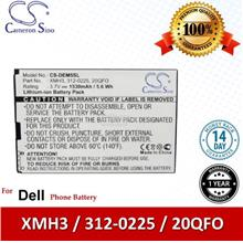 Ori CS DEM5SL Dell Mini 5 / Streak / Streak 5 M01M Battery