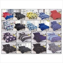3D Patcwork Queen Size Fitted Bedsheet~~ ~(CYQ01-CYQ18)