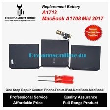 "Replacement Battery A1713 for New MackBook Pro 13"" Non Touch Bar A1708"