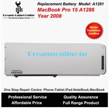 Replacement Battery A1281 for MackBook Pro 15 A1286 Year 2008