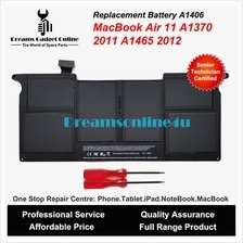Replacement Battery A1406 For MackBook Air 11.6' A1370 A1465 2011 2012