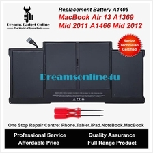 Replacement Battery A1405 MackBook Air 13 A1369 Mid 2011 A1466 2012