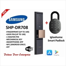 Samsung SHP-DR708 Smart Digital Door Lock+igloohome smart padlock(NEW)