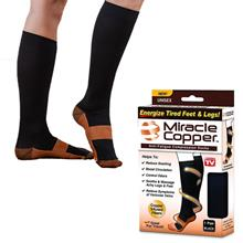 Miracle Copper Socks Anti-Fatigue Compression Stocking For Man & Women