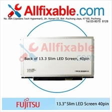 "13.3"" Slim LED LCD (40pin) Screen For Fujitsu Lifebook E734"