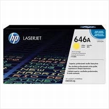 HP CF032A (646A) Yellow Toner (Genuine) CM4540 CM4540f CM4540fskm 032