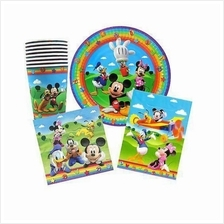Mickey Party Pack Savers Kids Birthday Tableware 32pcs