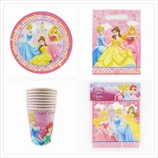 Disney Princess Party Pack Savers Kids Birthday Tableware 32pcs