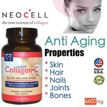 Neocell Collagen Type 1 & 3, 120 Tablets, 6000mg (Anti Aging) USA