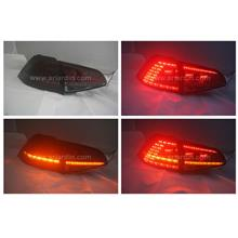 Volkswagen Golf 7 13-17 Red Smoke LED Tail Lamp