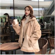 40cbe7f7f1b Plus Size Women Winter Jacket Cotton Wool Stand Collar Large Cutting