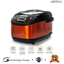 HETCH 8 in 1 Multifunction Rice Cooker - 5L Non-stick Inner Pot