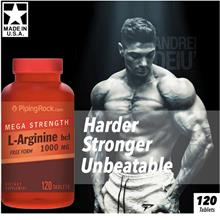Mega Strength L-Arginine 1000mg, 120 caplets, Recovery, Build Muscle