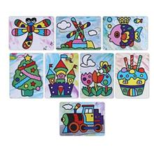STICKY PAINTING EDUCATIONAL DIY HANDMADE TOY FOR CHILDREN (COLORFUL)