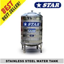 STAR WS Round Bottom With Stand Stainless Steel Water Tank WS150-WS400