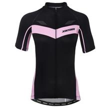 f853d93e7e9e7 XINTOWN1 Short Sleeve Quick-dry Zipper Color Printed Cycling Jersey for  Women