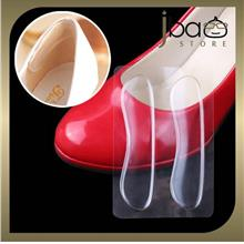Transparent Silicone Gel Shoes Heel Invisible Back Shoe Pad Grip Liner