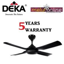DEKA DCX Decorative Ceiling Fan 52' (Black color)
