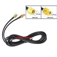 RG174 SMA Male to Female Ext. Cable for WiFi Router Antenna (CP-C-233)