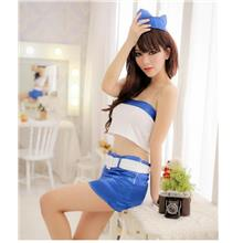 Stock Clearance Sexy Stewardess Cosplay Custome