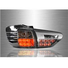 TOYOTA WISH 2009-17 Clear Smoke Lens LED Tail Lamp (Pair)