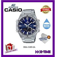NEW- CASIO ORIGINAL EDIFICE ERA-110D-2A MEN CHRONOGRAPH WATCH