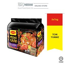 MAGGI Pedas Giler Perencah Tom Yummz 5 Packs 76g Each