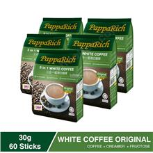 [5 Pack Bundle] Papparich White Coffee 3in1 (30g x 12s))