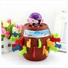 Running Man Pop Up Pirate Lord Barrel Roulette Toy Game XL Size