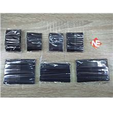 Heat Shrink Tube 127pcs Black Different Size And Length